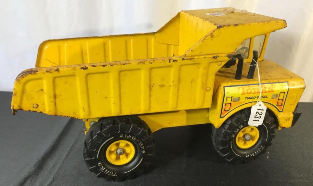 Tonka Pressed Metal Dump Truck