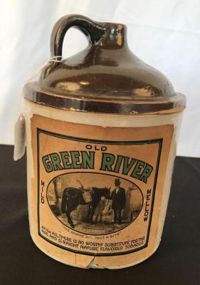 Green River Tobacco Crock