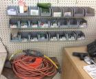 Electric Cords & Hardware Lot