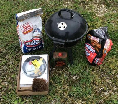 Expert Charcoal Camp Grill & Accessories