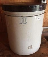 10 Gallon Crock with Lid