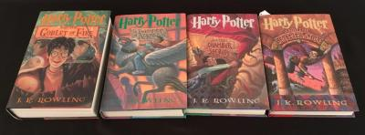 Lot of 4 Harry Potter Books