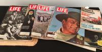 Stack of Vintage Life Magazines