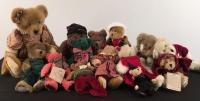 Large Lot of Boyd's Bears and Misc. Collectibles