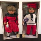 Lot of 2 Lissi Fashion Dolls- NIB