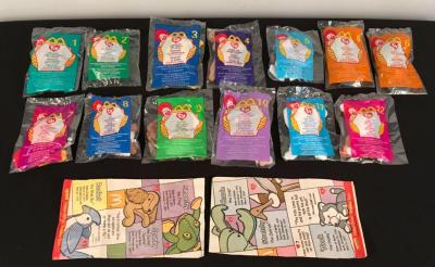McDonalds NIB Ty Happy Meal Beanie Babies