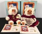 Original Raikes 1988 Santa & Mrs. Claus Bears