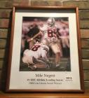 OSU Football Player Mike Nugent Autographed Framed Picture