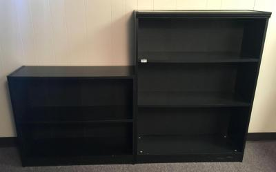 Lot of 2 Composite Bookcases