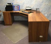 Desk, Office Mat, Files, Organizers, Cork Board, Etc.