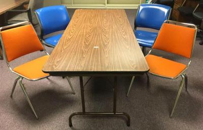 Folding Table w/ 4 Chairs