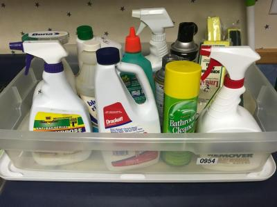 Roundup , Ice Melt and Misc. Cleaning Supplies