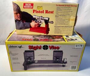 Sight Vise and Pistol Rest