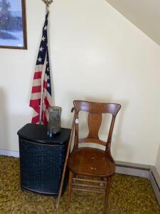 Hamper, Flag, Chair, Coin Sorter, Cane