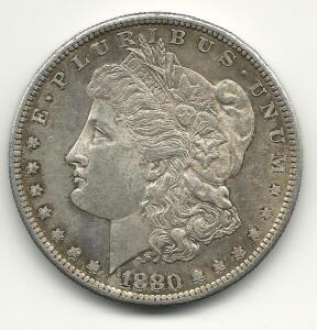 188O-S Morgan Dollar