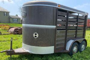 Bison 12' Stock Trailer