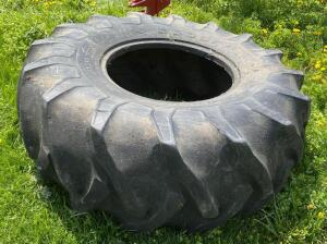 5 Old Tractor Tires