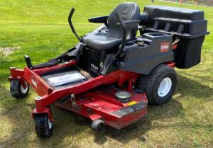 Toro Titan ZX5400 Riding Mower with Bagger