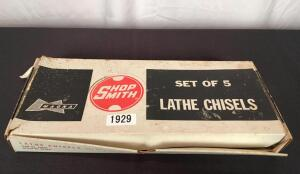 Magna Shop Smith Lathe Chisels