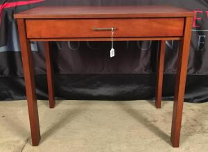 Wooden Desk/Side Table with Drawer