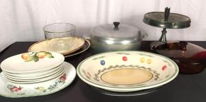 Heritage Aluminum Dutch Oven & Assorted Cookware Items