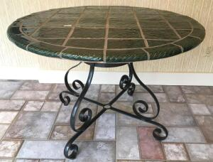 Ceramic Top Round Breakfast Table