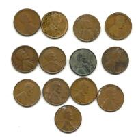 Lot of Lincoln Wheat Cents