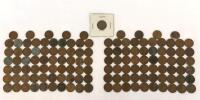 Lot of 1940's Lincoln Wheat Pennies-130