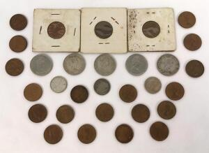 Lot of 30 Assorted Canadian Coins