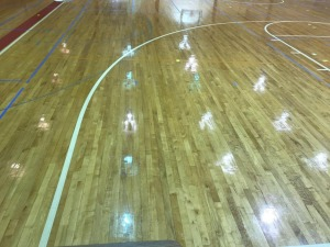 Right Three Point Line Home