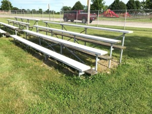 Bleachers Near Ball Field