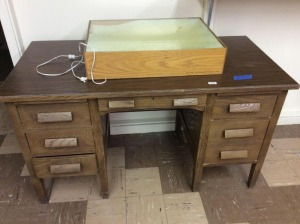 JHA - School Desk, chair with LiteBox