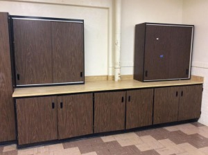 JHA - Base Cabinet and Two Upright Cabinets