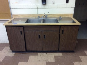 JHA- Stainless Sink and Base Cabinet