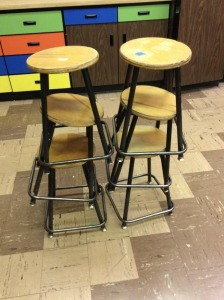 JHA- Lot of 6 Workstools