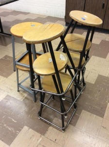 JHA- Lot of 8 Workstools