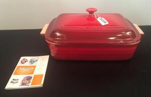 Le Creuset 4.5 Quart Enameled Cast Iron Covered Casserole Dish