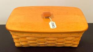 Longaberger 2000 Organizer Basket With Liners