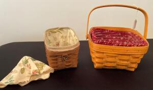 Pair of Longaberger Baskets