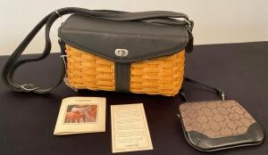 Longaberger Basket Purse w/ Clutch