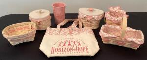 Longaberger Horizon of Hope Collection