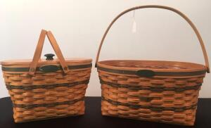 Longaberger 1997 Traditions and 1995 Traditions Baskets