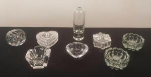 Orrefors Pieces and Assorted Lot of Glassware
