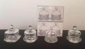 Lot of 7 Butter Dishes