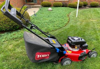"Toro 21"" Self Propelled Mower"