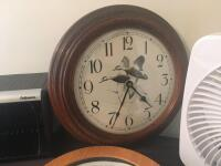 Table Fan, Clocks and CD Holder - 2