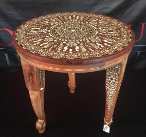 Inlaid Decorative Table