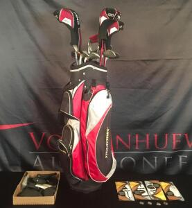 PING Golf Bag with Clubs & Accessories