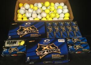 Lot of Golf Balls, Several New Boxes