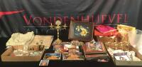 Large Lot of Buddhist Decor, Tapestries, Prints, Etc.